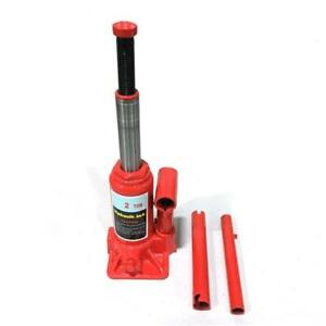 Portable 2 Ton Hydraulic Bottle Jack Car Repair Tools