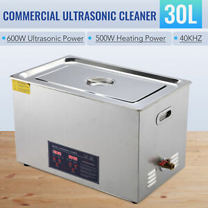 30l Ultrasonic Cleaning Jewelry Cleaner Machine Professional With Heater Timer