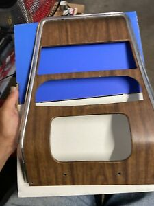 1967 1968 Camaro First Gen Oem Wood Grain Dash Bezel Carrier