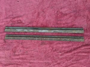 1936 1937 1938 Chevy Gmc Pickup Truck Window Glass Track Pair Original Items
