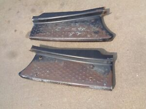 Dodge Truck Running Boards Solid Pair 1947 1946 1942 1941 1940 1939