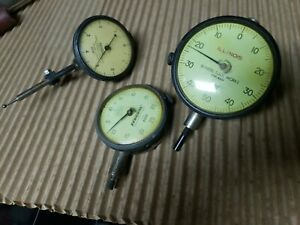 Dial Indicators lot Of 3