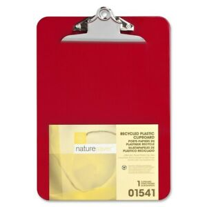 Nature Saver Recycled Clipboard Red