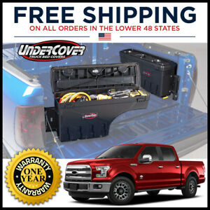 Undercover Swing Case Passenger Side Truck Bed Storage For 2015 2021 Ford F 150