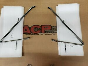 1966 1967 Chevelle Gto Hardtop Or Convertible New Repro Vent Window Housings
