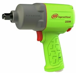 Brand New Ingersoll Rand 2235timax g Limited Edition Green 1 2 Impact Wrench