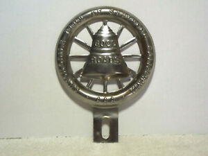 Vintage Aaa License Plate Topper Automobile Club Aaa Southern California