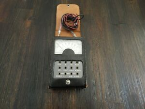 Simpson Midgetester Model 355 In Original Leather Case With Leads