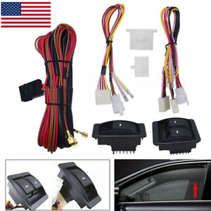 Car Electric Power Window Switch With Wiring Harness 12v Kit For 2 Doors Type Us