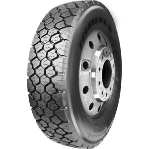 2 New Thunderer Od432 225 70r19 5 Load G 14 Ply Commercial Tires