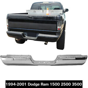 Rear Bumper Face Bar For 94 02 Dodge Ram 3500 Ram 2500 94 01 Ram 1500 Ch1102344