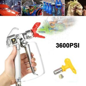 3600psi Airless Paint Spray Gun 517 Tip Guard Swivel Joint Kit For Graco Wagner