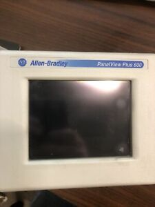 Allen Bradley Panelview Plus 600 2711p t6c20d Touchscreen Series C