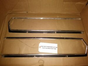 Oem 1966 Ford Thunderbird Exterior Rear Left And Right Tail Light Trim