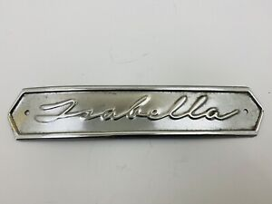 Borgward Isabella Grill Badge Grille Nos New Old Stock 856