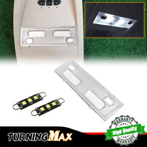 Overhead Console Led Dome Lights W Cover Silverado Sierra Tahoe 07 14 15911049