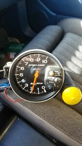 Autometer Sport comp Monster Shift lite Tachometer Free Shipping