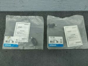 Lot Of 2 Omron E3z r86 Photoelectric Switch 12 24vdc New