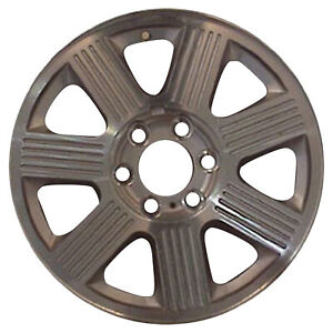 Oem Used 18x7 5 Alloy Wheel Rim Sparkle Silver Painted With Machined Face 3519u