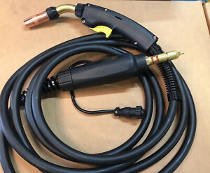 Bernard Style Q2015ab8cmc Mig Welding Gun 200 A 15 Ft With Miller Connector