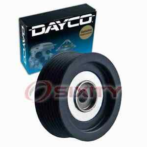 Dayco 89544 Drive Belt Idler Pulley For 231544 Md368210 Engine Bearing Tk