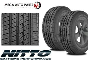 2 Nitto Crosstek 2 P255 65r16 106t Truck Suv All Season Tires 60k Mi Warranty