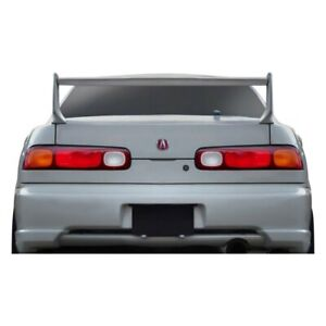 For Acura Integra 94 01 Duraflex Type M V2 Style Fiberglass Rear Wing Unpainted