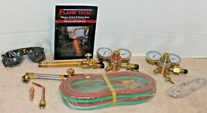 Oxygen Acetylene Torch Set Regulators Hoses All Included New Victor Capatible