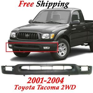Valance Toyota Tacoma 2wd Primed Front Lower Panel Fits 2001 2004 To1095131