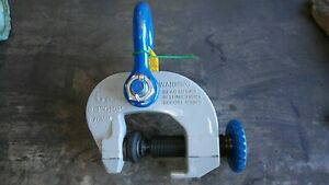 new Plate Lifting Clamp Merrill campbell Sac 6 Ton Grip 0 3 Inch
