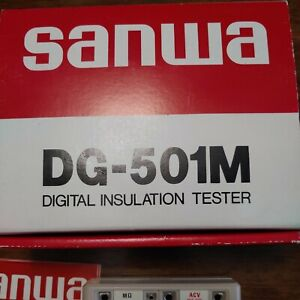 Sanwa Dg 501m Digital Insulation Tester