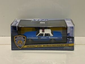 Greenlight 86583 1990 Chevy Caprice Nypd 143 Die Cast Car