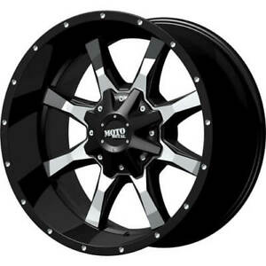 4 18x9 Black Moto Metal Mo970 6x135 6x5 5 18 Rims Terra Grappler G2 Tires