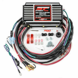 Msd Ignition Box 5520 Msd Street Fire Digital Cd With Rev Limiter