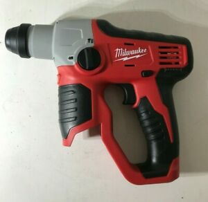 Milwaukee M12 2412 20 Lithium ion Cordless 1 2 In Sds plus Rotary Hammer N