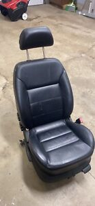 Front Passenger Seat Used From A 2004 Vw Mk4 Jetta In Black Leather