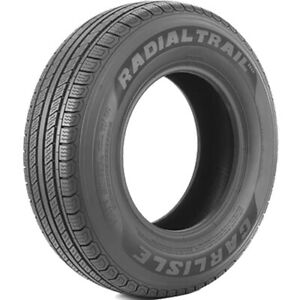 2 New Carlisle Radial Trail Hd St 205 75r14 C 6 Ply Trailer Tires
