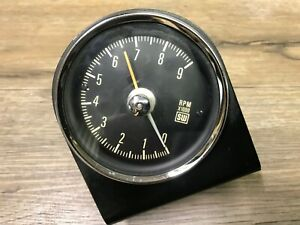 1960 s Stewart Warner Sw Machanical 9000 Rpm Tach Tachometer Bracket