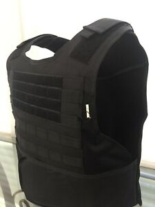 Concealable Bulletproof Vest Carrier BODY Armor Made With Kevlar 3a M XL 2xl 3XL $235.00