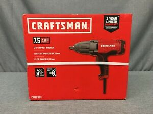 Craftsman Cmef901 Electric Corded 7 5 Amp 1 2 Impact Wrench