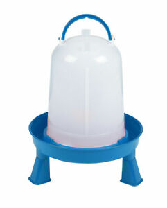 Double tuf Dt9872 Poultry Waterer 3qt With Removable Legs