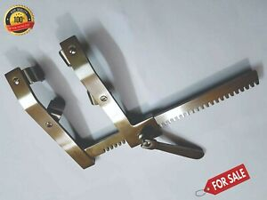 Surgical Cardiovascular Thoracic Morse Sternal Retractor 4 Movable Blade