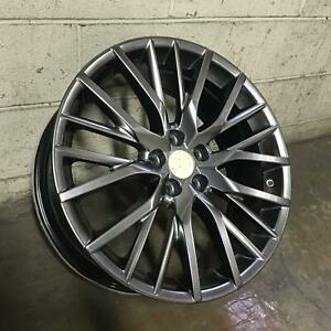 17x7 5x114 Et35 Hyper Black Lexus Toyota Set Of 4 Wheels