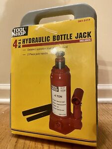 Tool Shop 4 Ton Hydraulic Bottle Jack Lift