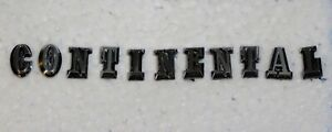 1977 1978 1979 Lincoln Mark V Oem Trunk Continental Script Letters