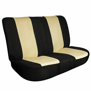 Full Coverage Flat Cloth Seat Covers Bench Seat