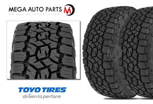 2 Toyo Open Country A T Iii 285 60r18 120s All Terrain 65k Mile Truck Suv Tires