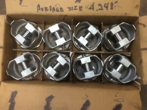 Bbc Chevy 454 Pistons Std With Rings