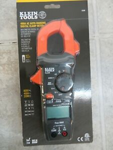New Klein Tools Cl220 400a Ac Auto ranging Digital Clamp Meter