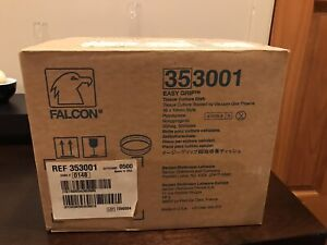Corning Falcon 353001 35 Mm Cell Culture Dish case Of 500 New